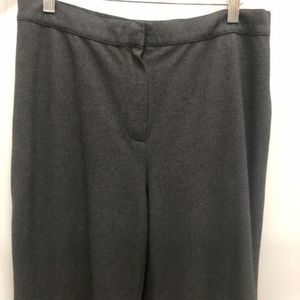 Lafayette 148 size 12 career pants stretch gray